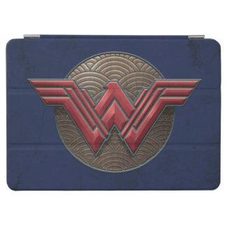 Symbole de femme de merveille au-dessus des protection iPad air