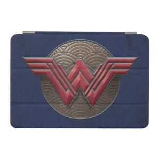 Symbole de femme de merveille au-dessus des protection iPad mini