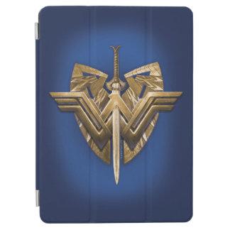 Symbole de femme de merveille avec l'épée de la protection iPad air