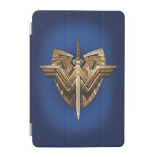 Symbole de femme de merveille avec l'épée de la protection iPad mini