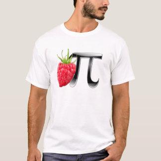 Symbole de framboise et de pi t-shirt