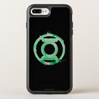 Symbole de lanterne de café - vert coque otterbox symmetry pour iPhone 7 plus