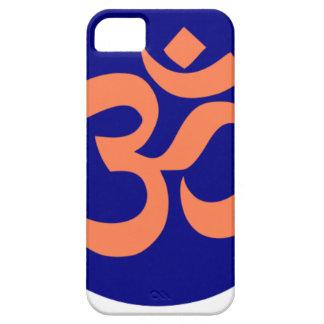 Symbole de l'OM ou de l'Aum dans le bleu marine et Coques Case-Mate iPhone 5