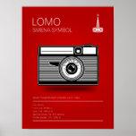 Symbole de Lomo Smena Posters