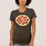 symbole de lotus d'ohm t-shirt