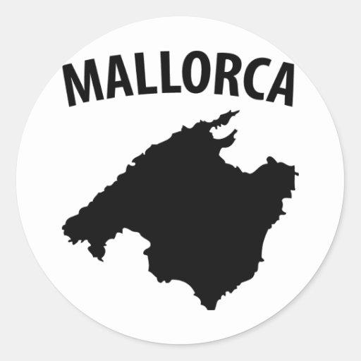 symbole de Majorque Adhésifs Ronds