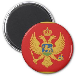 Symbole de nation de drapeau de pays de Monténégro Aimant