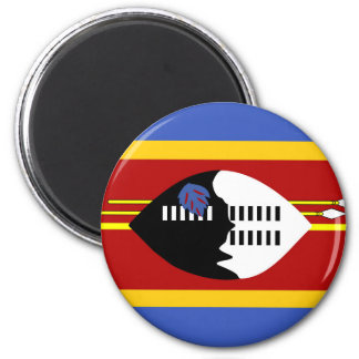 symbole de nation de drapeau de pays du Souaziland Aimant