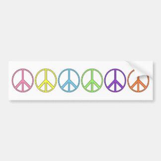Symbole de paix personnalisable Bumpersticker Autocollant Pour Voiture