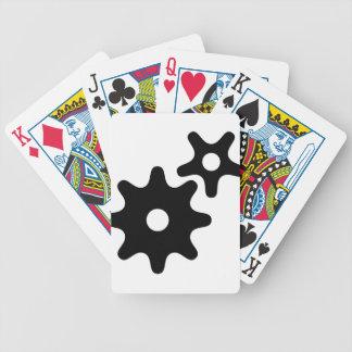 Symbole de planification-pensée-work de jeu de poker