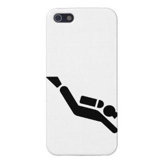 Symbole de plongée à l'air étuis iPhone 5