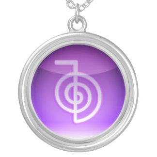 symbole de reiki pendentif rond