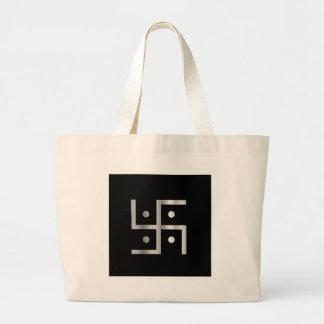 Symbole de svastika d'hindouisme sacs fourre-tout