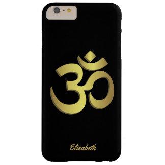 Symbole de yoga de l'OM (Aum) Namaste Coque iPhone 6 Plus Barely There