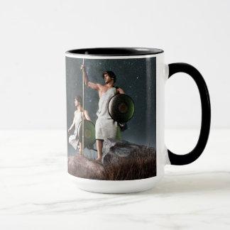 Symbole de zodiaque de Gémeaux Mug