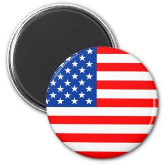 symbole des Etats-Unis de drapeau de pays des Aimant