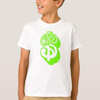 Symbole dollar (vert clair) t-shirt