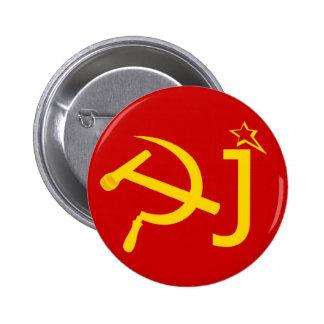 Symbole drôle du DJ URSS Badges