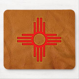 Symbole du Nouveau Mexique Zia Sun Tapis De Souris