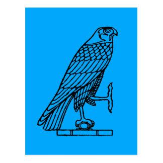 Symbole égyptien : Faucon Carte Postale