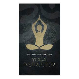 Cartes de visites pour les professeurs yoga à personnaliser sur Zazzle.