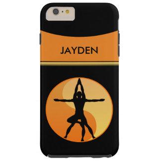 Symbole extrême d'équilibre de yoga de puissance 6 coque iPhone 6 plus tough