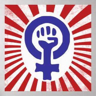 Symbole féministe posters
