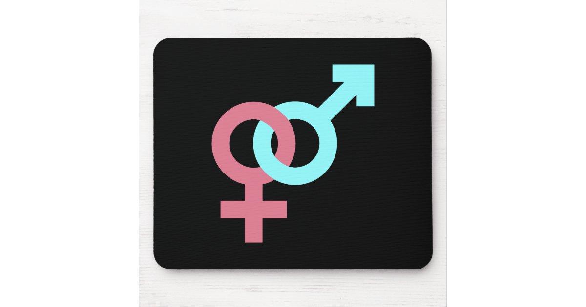 Symbole homme femme woman tapis de souris zazzle for Surface minimum bureau code du travail