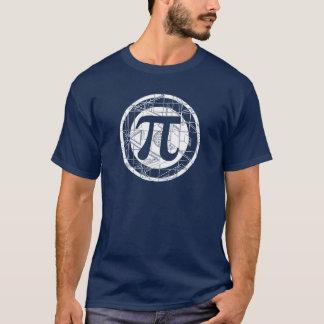 Symbole impressionnant de pi t-shirt