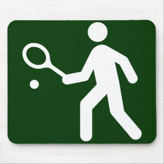 Symbole Mousepad de tennis Tapis De Souris