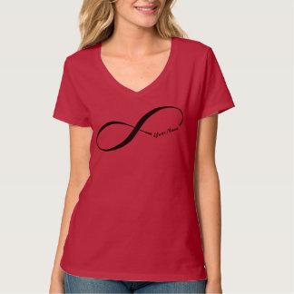 Symbole nommé fait sur commande d'infini t-shirt