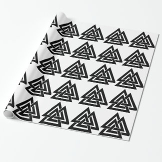 Symbole nordique Odin de protection des norses de Papier Cadeau
