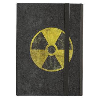 Symbole radioactif grunge