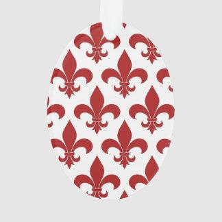 Symbole rouge de Fleur de lis French