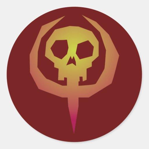 Symbole t te de mort cr ne skull zazzle - Symbole tete de mort ...
