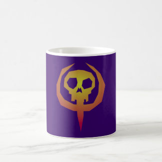 Symbole tête de mort crâne skull mug