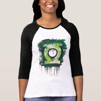 Symbole vert de graffiti de lanterne t-shirt