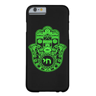 Symbole vert de Hamsa Coque iPhone 6 Barely There