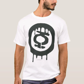 Symbole vert de peinture de lanterne t-shirt