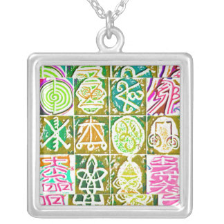 Symboles curatifs de REIKI Collier
