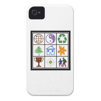 SYMBOLES de clients de revendeurs de MODÈLE de Coque iPhone 4 Case-Mate