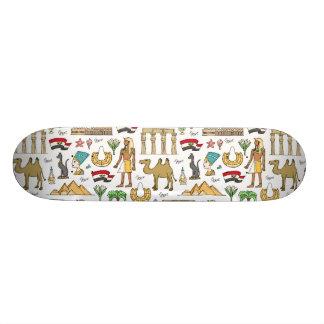 Symboles de couleur de motif de l'Egypte Planches À Roulettes