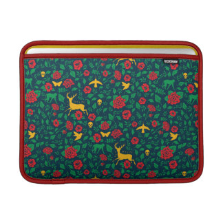 Symboles de la vie de Frida Kahlo | Poche Pour Macbook Air