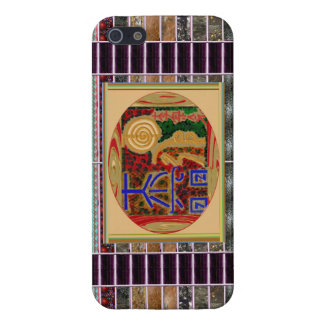 Symboles de ReikiHealingArt d'art curatif de Reiki iPhone 5 Case
