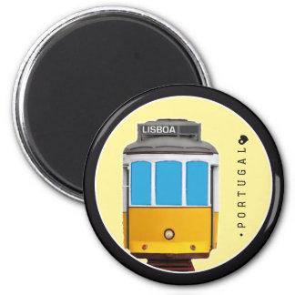 Symboles de tramway du Portugal - de Lisbonne Aimant