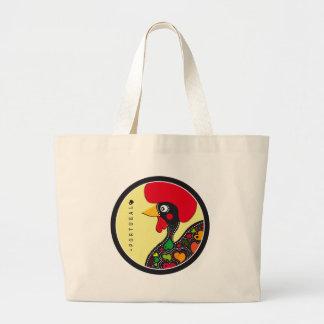 Symboles du Portugal - coq Grand Tote Bag
