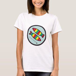 Symboles du Portugal - sardines T-shirt