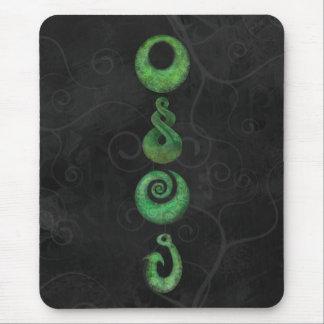 Symboles maoris tapis de souris