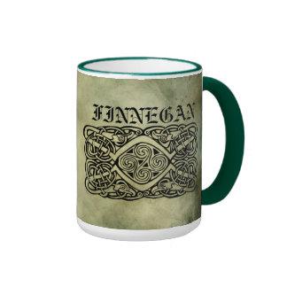 symboles sacrés de nom de famille irlandais mug
