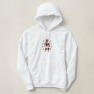 Symbolisme béni de Vierge Marie Sweatshirt Avec Capuche